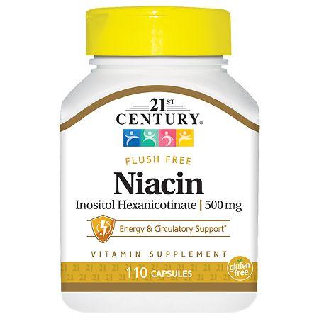 21st Century Flush Free Niacin 500mg