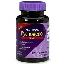 Pycnogenol 50 mg Dietary Supplement Capsules