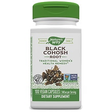 Nature's Way Black Cohosh Root 540 mg Dietary Supplement Capsules