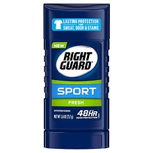 Right Guard Sport 3-D Odor Defense, Antiperspirant & Deodorant Invisible Solid Fresh