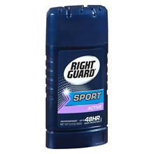 Right Guard Sport Sport 48-HR Protection, Antiperspirant & Deodorant Invisible Solid, Active
