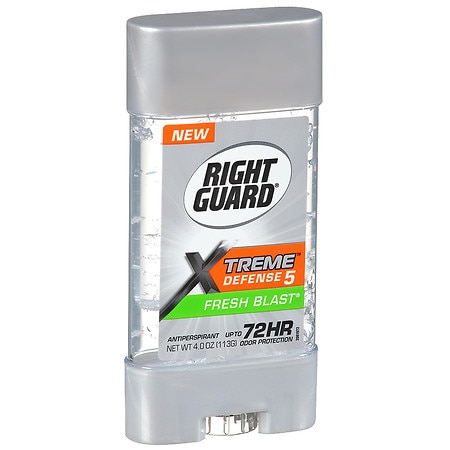 Right Guard Total Defense 5 Power Gel, Antiperspirant & Deodorant Fresh Blast
