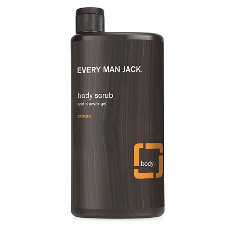 Body Wash and Shower Gel Citrus Scrub by Every Man Jack