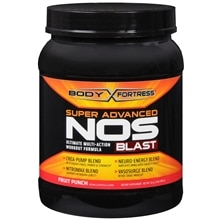 Super NOS Blast, Ultimate Multi-Action Workout Formula Fruit Punch