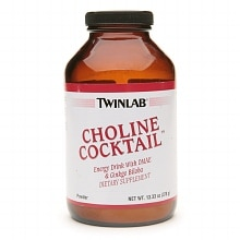 Twinlab Choline Cocktail Dietary Supplement Drink Mix Powder