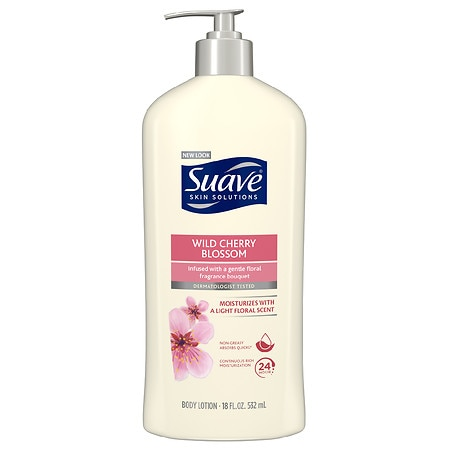 Suave Naturals Naturals Body Lotion Wild Cherry Blossom