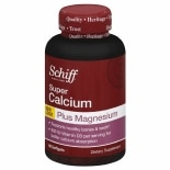 Schiff Super Calcium-Magnesium Dietary Supplement Softgels