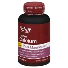 Schiff Super Calcium Magnesium with Vitamin D, Softgels