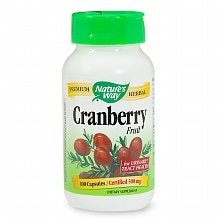 Nature's Way Cranberry Fruit 465 mg Dietary Supplement Capsules