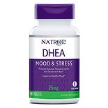 Natrol DHEA 25 mg Dietary Supplement Tablets