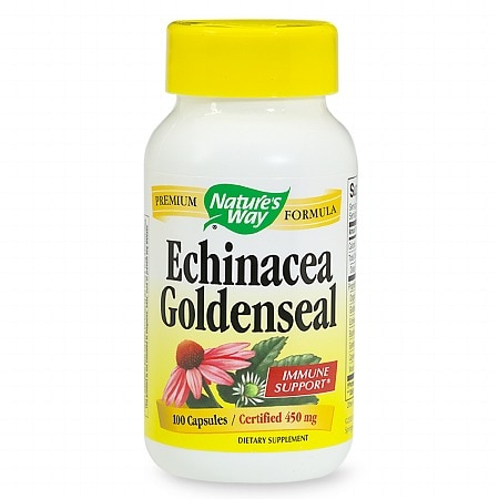 Nature's Way Echinacea Goldenseal, Capsules