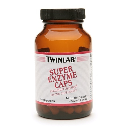 Twinlab Super Enzyme Caps Dietary Supplement Capsules