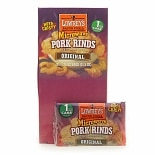 Lowrey's Bacon Curls, Microwave Pork Rinds Original,18 bags