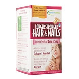 Longer Stronger Hair & Nails Dietary Supplement Soft-Gels