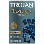 Trojan Sensitivity BareSkin Lubricated Premium Latex Condoms