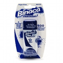 Binaca Fast Blast Breath Spray Peppermint
