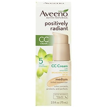 Aveeno Active Naturals Positively Radiant Tinted Moisturizer SPF 30 Medium Sheer Tint