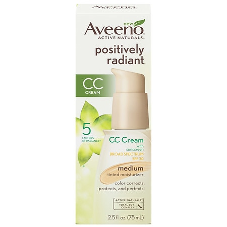 Aveeno Active Naturals Positively Radiant Tinted Moisturizer SPF 30 Medium