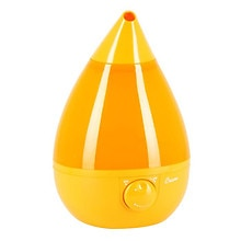 Crane Drop Shape .9 Gallon Cool Mist Humidifier 1 gallon Orange