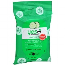 Yes to Cucumbers Soothing Hypoallergenic Facial Towelettes