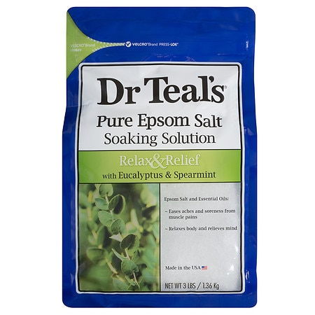 Dr. Teal's Epsom Salt Soaking Solution Eucalyptus, Spearmint