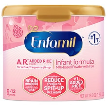 A.R. Infant Formula for Spit-Up