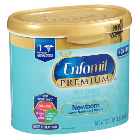 Enfamil Premium Newborn Infant Formula Powder
