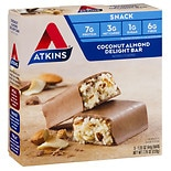 Atkins Advantage Snack Bars, 5 Coconut Almond Delight