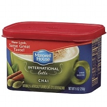 Chai Latte Cafe-Style Beverage Mix, Chai Latte