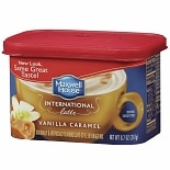 Maxwell House International Cafe Style Beverage Mix Vanilla Caramel Latte