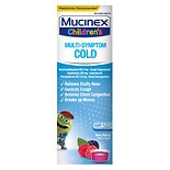 Mucinex Kids Children's Multi-Symptom Cold Liquid Very Berry Flavor Liquid