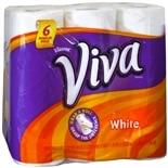 Viva Paper Towels, Regular Roll White