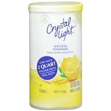 Crystal Light Drink Mix Powder 4 Pack Lemonade