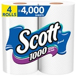 Scott Unscented Bathroom Tissue