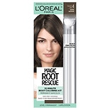 L'Oreal Paris Root Rescue 10 Minute Root Hair Coloring Kit Dark Brown 4