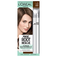 10 Minute Root Hair Coloring Kit, Medium Brown 5