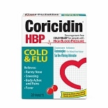 Coricidin HBP Cold & Flu for People with High Blood Pressure, Tablets