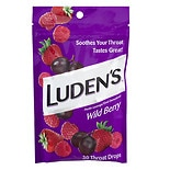 Luden's Throat Drops Wild Berry