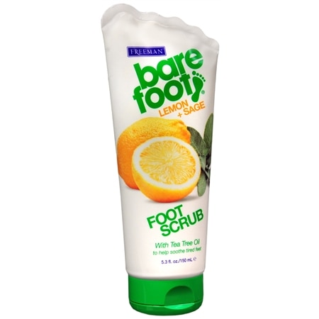 Freeman Bare Foot Revitalizing Foot Scrub Lemon & Sage