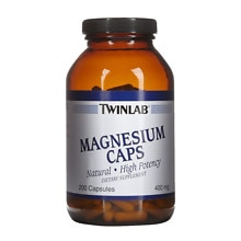 Twinlab Magnesium Caps Dietary Supplement Capsules