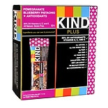 KIND Plus Nutrition Bars Pomegranate Blueberry Pistachio + Antioxidants