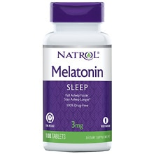 Melatonin TR 3 mg Dietary Supplement Tablets