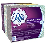 Puffs Ultra Soft & Strong Facial Tissues 6 boxes (124 count each)