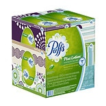 Plus Lotion Facial Tissues 6 boxes (124 count each)