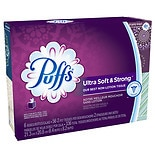 Puffs Ultra Soft & Strong Facial Tissues 6 boxes (56 count each)