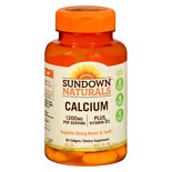 Calcium 1200 mg Per Serving + Vitamin D3 Dietary Supplement Softgels