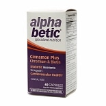 Alpha Betic Cinnamon Plus Chromium & Biotin