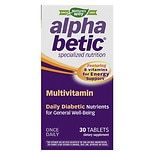 Alpha Betic Once-A-Day Multivitamin Supplement