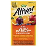 Nature's Way Alive! Once Daily Whole Food Energizer Multivitamin Dietary Supplement Tablets