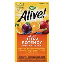 Nature's Way Alive! Once Daily Multivitamin, Tablets